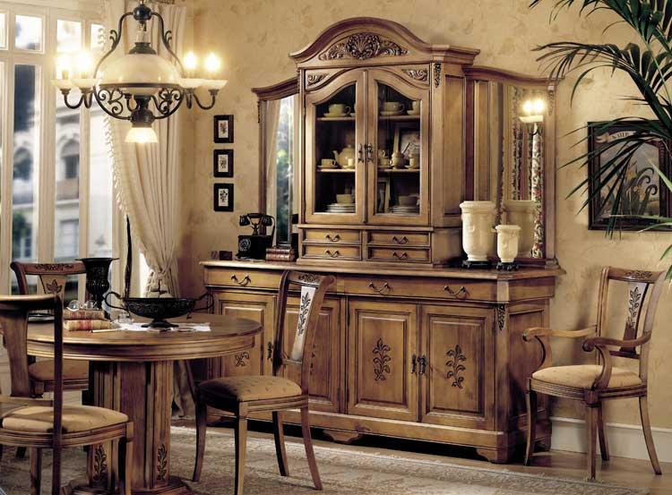 Comedores coloniales comedor colonial toyoo muebles - Comedores estilo colonial ...